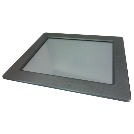 "Moniteur 15"" en métal, panel mount"